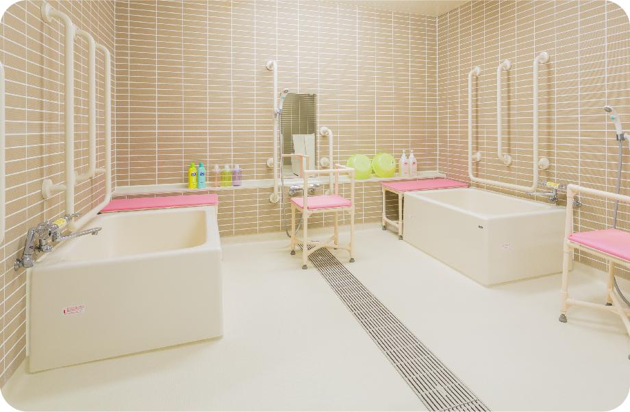 写真:入所用浴室