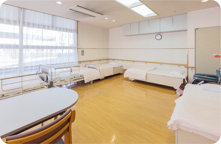 写真:静養室