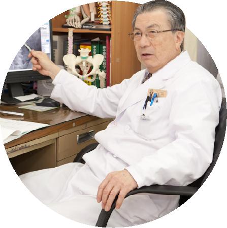 写真:タケシマ整形外科院長